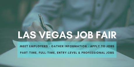 Las Vegas Career Fair & Job Fair - September 12, 2019