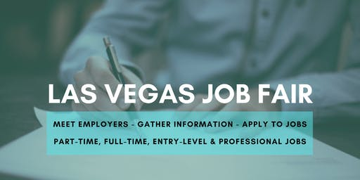 Las Vegas Job Fair - September 23, 2019 Job Fairs & Hiring Events in Las Vegas NV