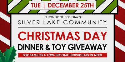 Christmas Day Dinner & Toy Giveaway
