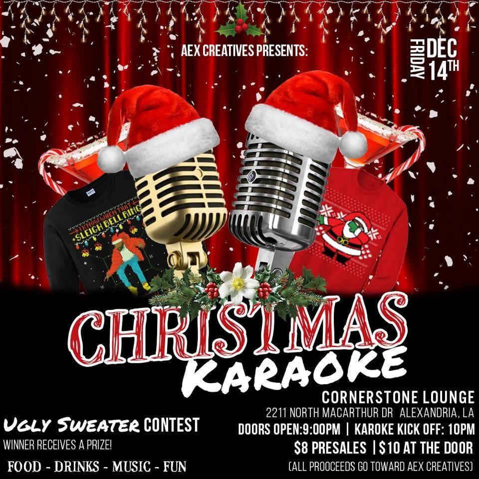 Christmas Karaoke at 2211 N MacArthur Dr, Alexandria