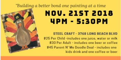 Parent N' Me Paint Night - SteelCraft LB