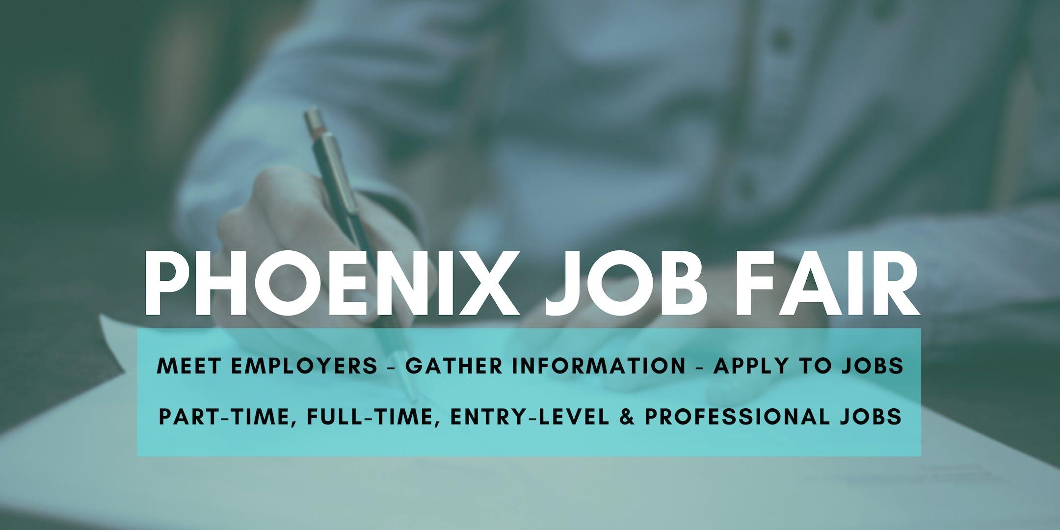 Phoenix Job Fair - October 14, 2019 Job Fairs & Hiring Events in Phoenix AZ