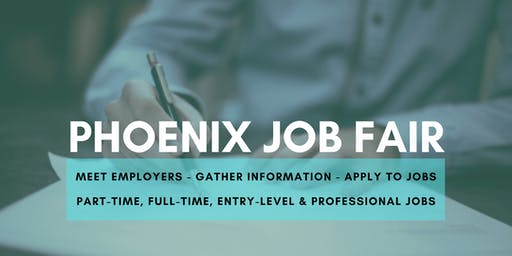 Phoenix Job Fair - October 14, 2019 Job Fairs & Hiring Events in Phoenix AZ