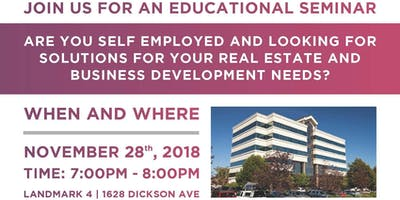 MORTGAGE SOLUTIONS SEMINAR FOR SELF-EMPLOYED