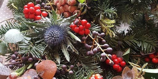 Christmas Wreath Workshop @ Stretford Food Hall