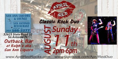 April Red LIVE at The Outback Bar Ralph's aka San Ann Liquor!