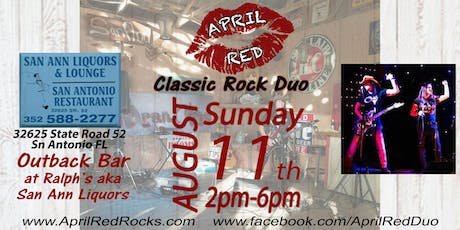 April Red LIVE at The Outback Bar Ralph's aka San Ann Liquor! tickets