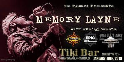 90s Palooza presents: MEMORY LAYNE / 1000HP / EPIC / SEATTLE\