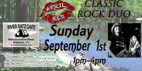April Red LIVE at River Ratz Cafe in Nobleton! tickets