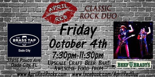 April Red Rockin' The Brass Tap in Dade City!