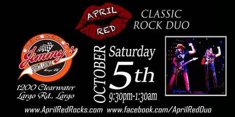 April Red Rockin' Jimmy's Sports Lounge in Largo! tickets