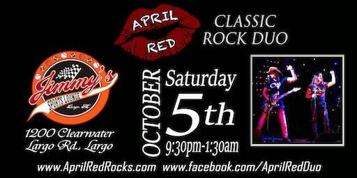 April Red Rockin' Jimmy's Sports Lounge in Largo!
