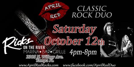 April Red Rockin' Rick's on the River in Tampa! tickets