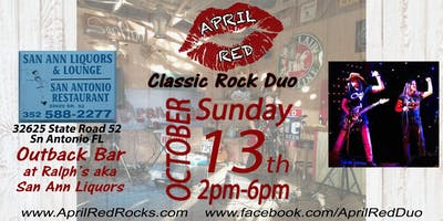 April Red Live at The Outback Bar at Ralph's aka San Ann Liquor!