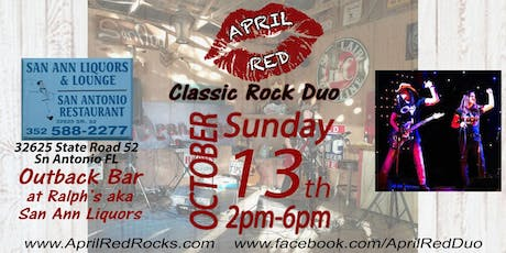 April Red Live at The Outback Bar at Ralph's aka San Ann Liquor! tickets