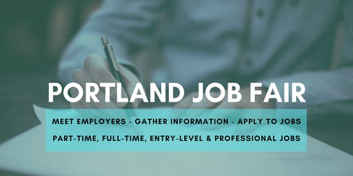 Portland Job Fair - July 17, 2019 Job Fairs & Hiring Events in Portland OR