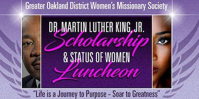GODWMS Dr. Martin Luther King Jr. Scholarship & Status of Women Luncheon