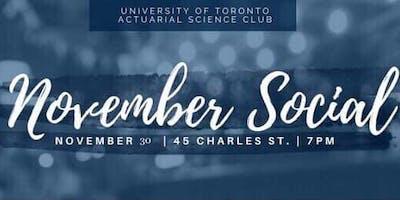 UofT ACT SCI Club November Social