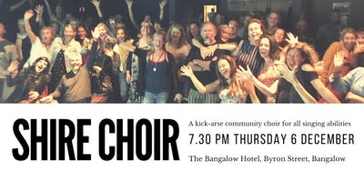 Shire Choir - December