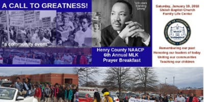 6th Annual Martin Luther King  Prayer Breakfast