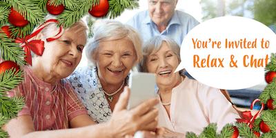 Relax & Chat - FREE Seniors Morning Tea & Christmas Wreath Workshop