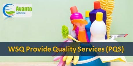 WSQ Provide Quality Services (PQS) tickets