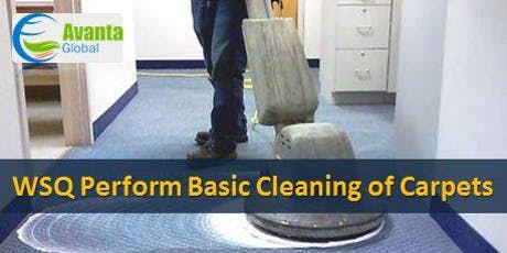 WSQ Perform Basic Cleaning of Carpets Course tickets