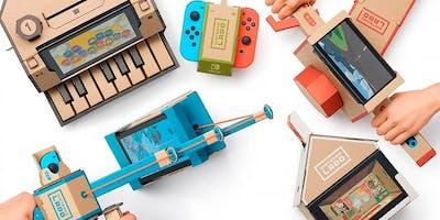 Atelier Jeux vidéo : Nintendo Labo