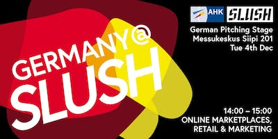 German Pitching Stage: Online Marketplaces, Retail & Marketing