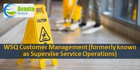 WSQ Customer Management (formerly known as Supervise Service Operations) tickets