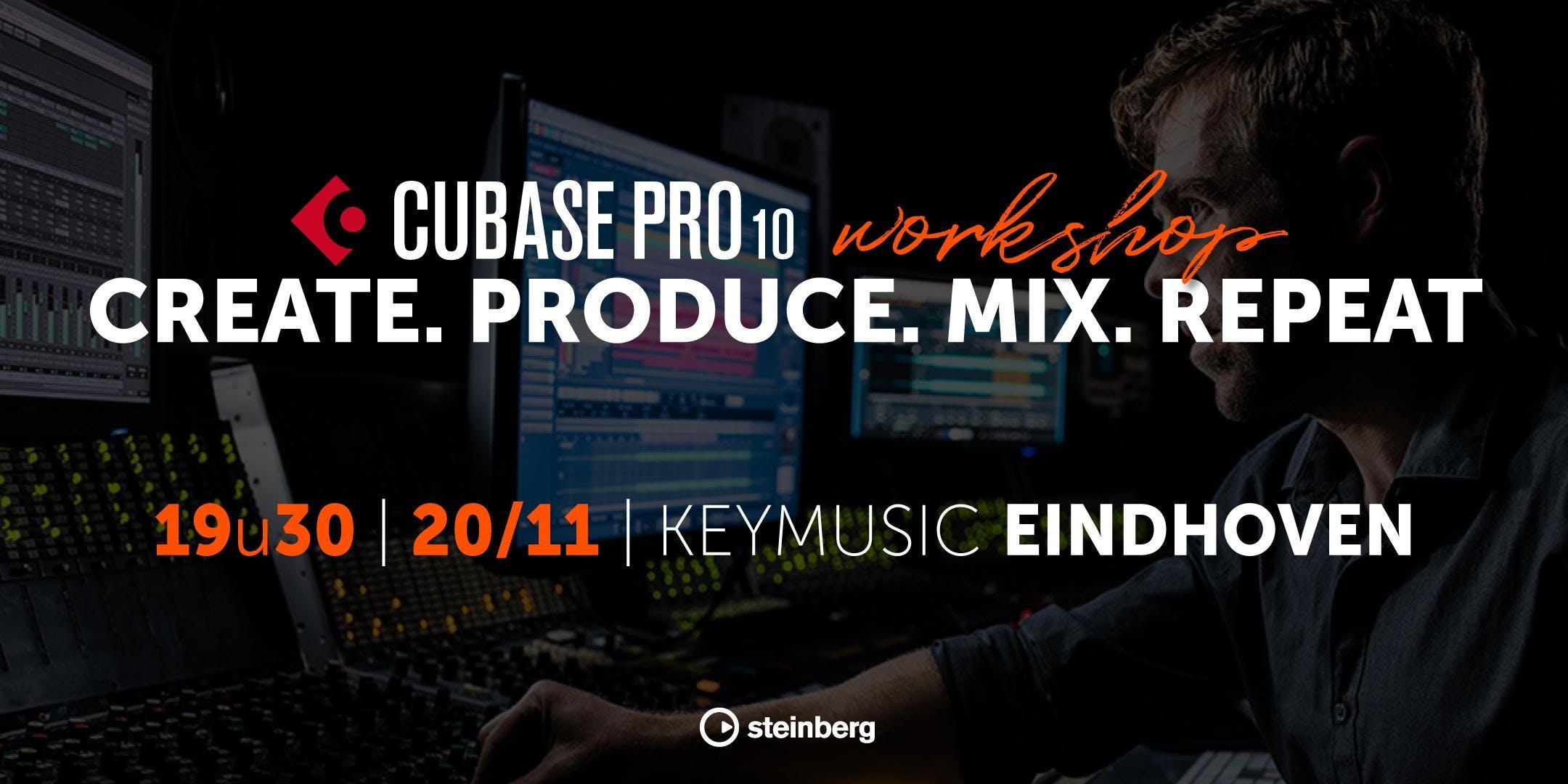 Cubase Pro Workshop KEYMUSIC Eindhoven