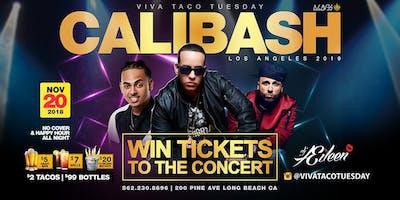 Calibash Los Angeles Ticket Raffle at Viva Taco Tuesday