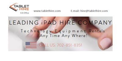 iPad Rental for Events in USA