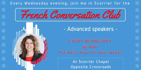 French Fun Conversation Club Scorrier (Intermediate/Advanced) tickets