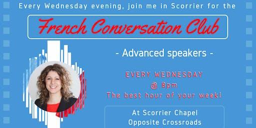 French Fun Conversation Club Scorrier (Intermediate/Advanced)