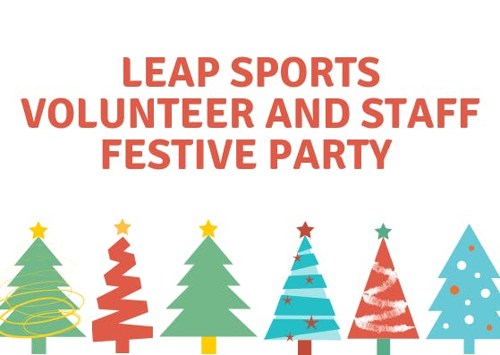 Volunteer and Staff Christmas Party