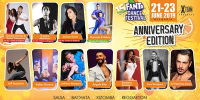15th Fanta Dance Festival 21-23 June 2019 - ANNIVERSARY EDITION