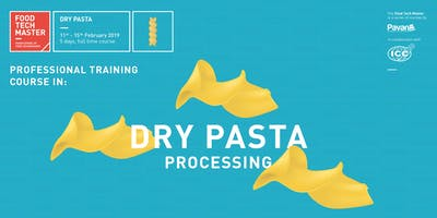 Food Tech Master - Dry Pasta processing