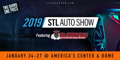 St. Louis Auto Show feat. The Motorcycle Show - JAN 24-27, 2019