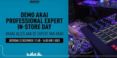 Demo Akai Professional Expert In-store Day