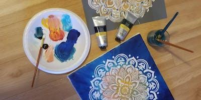 Mandala Painting DIY