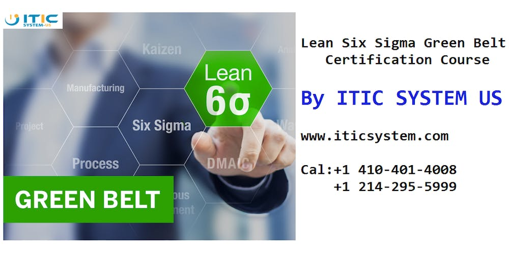 Sacramento Ca Lean Six Sigma Green Belt Certification Training