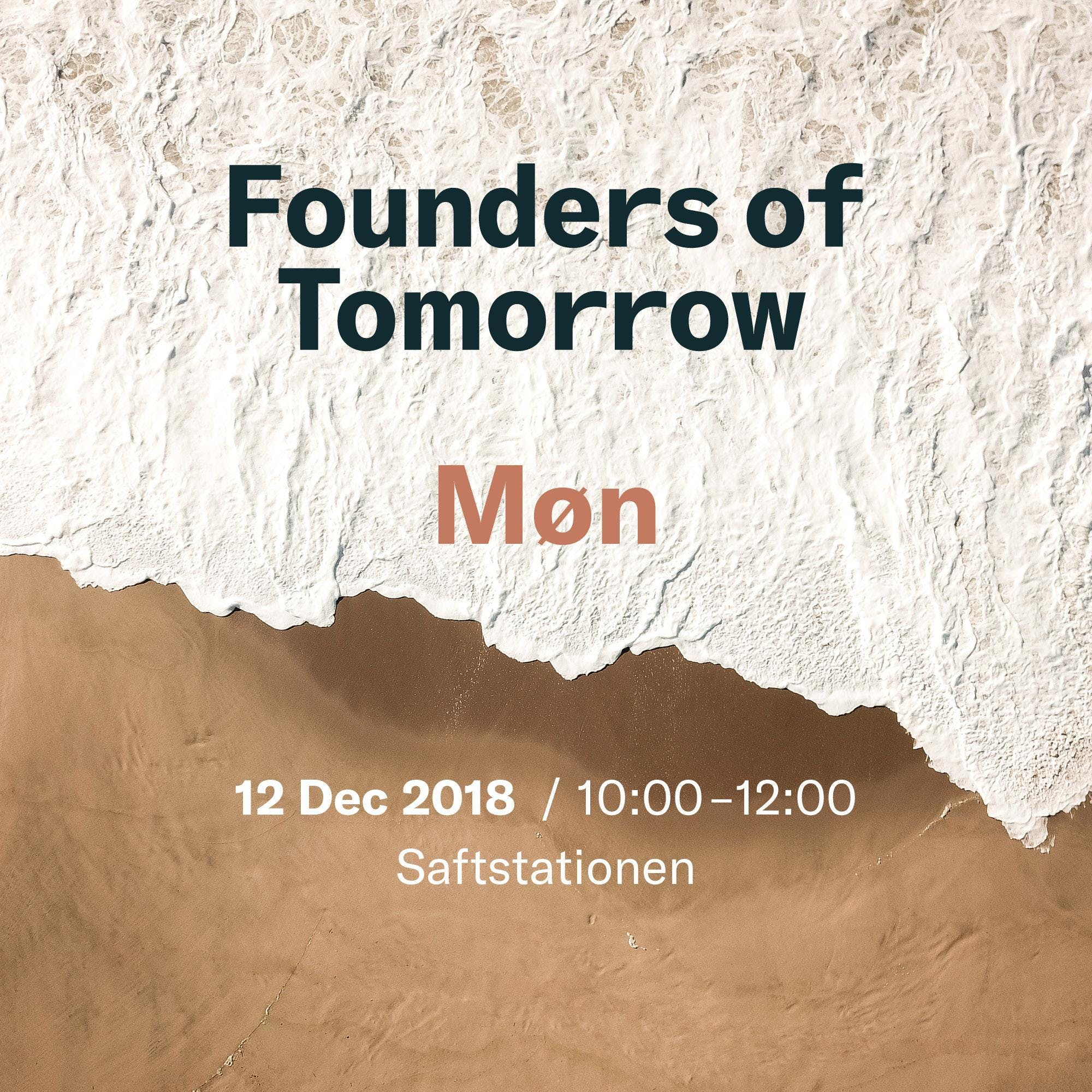 Founders of Tomorrow on the Road - Møn