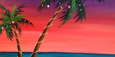 Deck The Palms Paint Night West Palm Beach December
