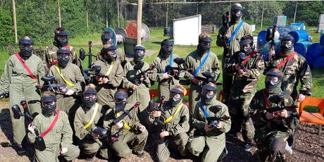 Paintballen vanaf 1 persoon tickets