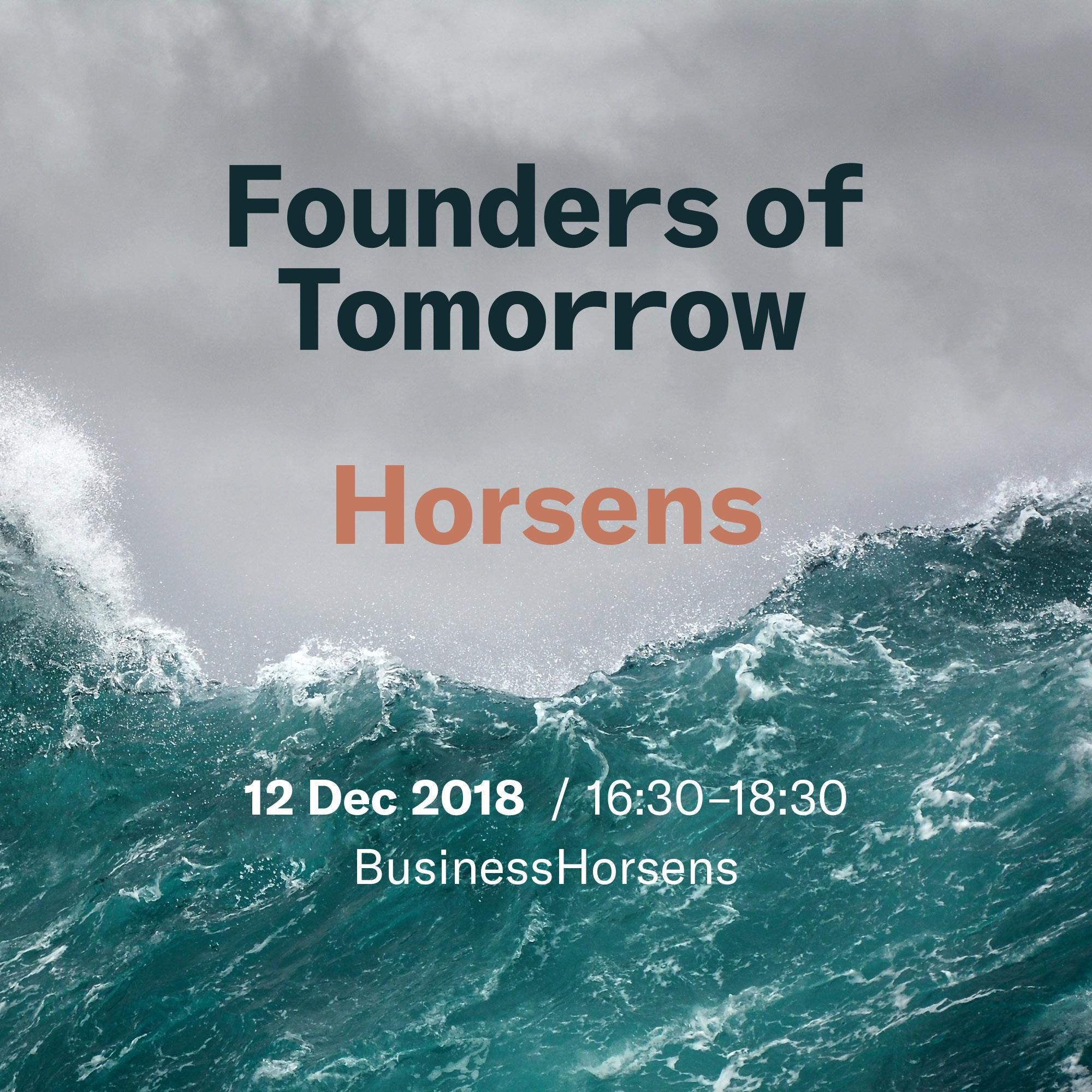 Founders of Tomorrow on the Road - Horsens
