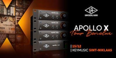 Apollo X Tour Benelux KEYMUSIC Sint-Niklaas