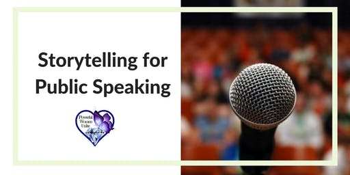 Storytelling for Public Speaking, Connection & Visibility-Dec 14th