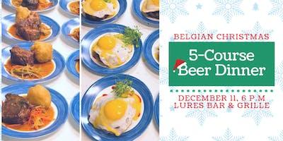 5-Course Belgian Christmas Beer Dinner