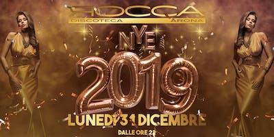 Capodanno 2019 - La Rocca Gold - Arona